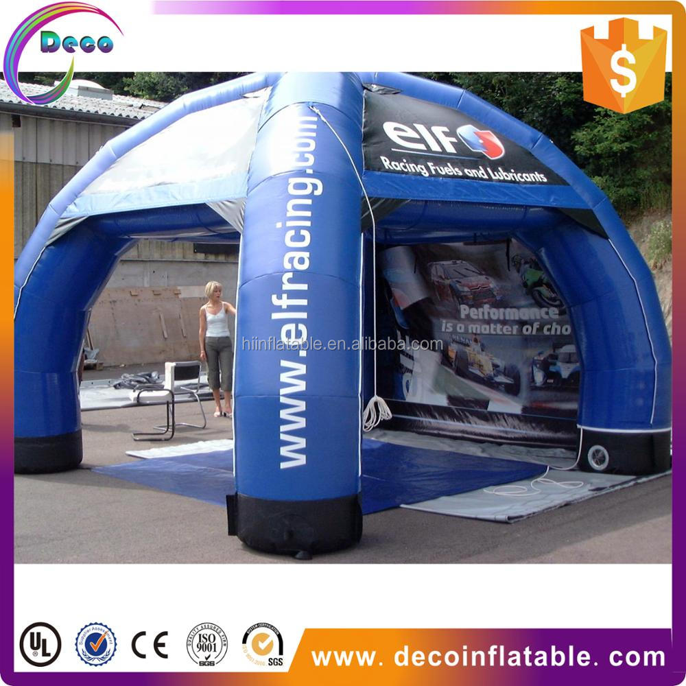Good price inflatable spider tent,tent with inflatable bottom,inflatable lawn tent