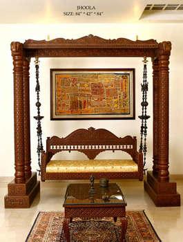Traditional Jhoola Indian Swing Handicraft Buy Swing