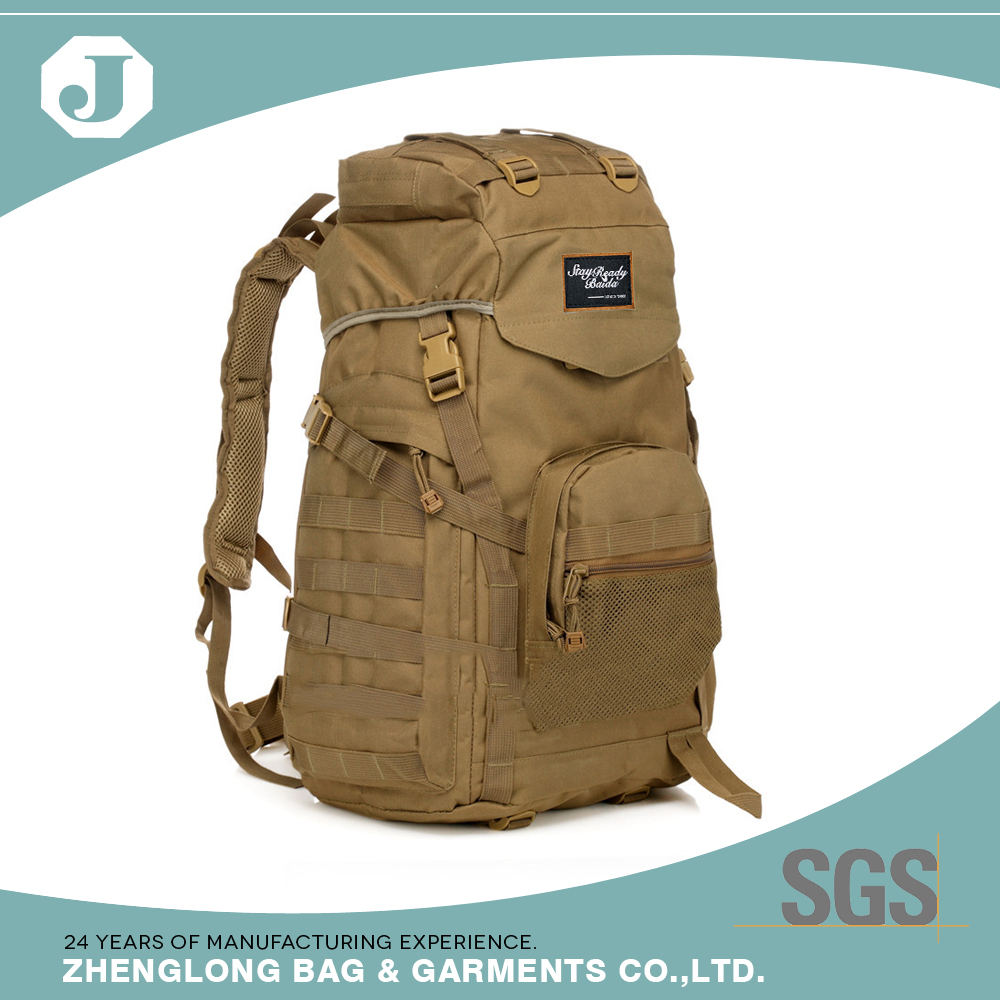 Popular outdoor hiking sport military medical backpack bag