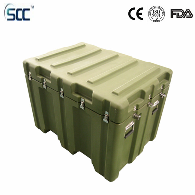 Big size 467L Rotomolding <strong>Plastic</strong> tool storage box for equipment