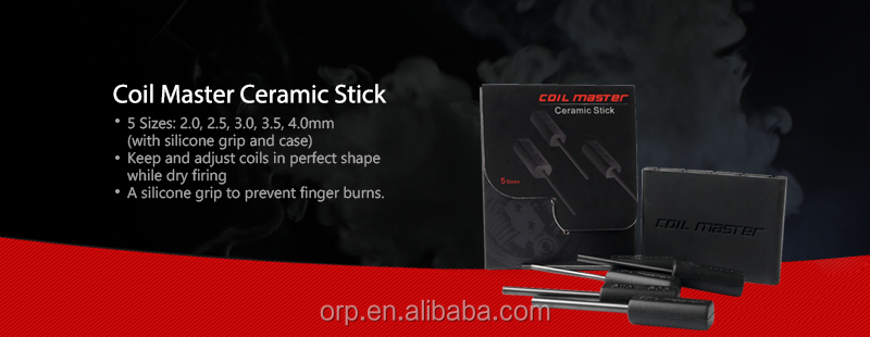 100% Original Vaper Coil Master Ceramic Stick For Rebuild Coils For Vape  Diy Is A Multi-function Tool Price Philippines - Buy For Coil Building And