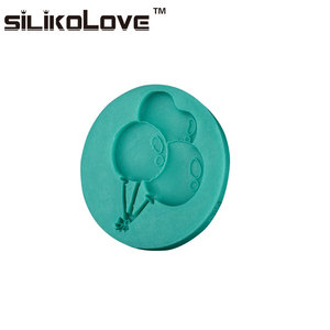 Super Quality Romantic Balloons Shape Food Grade FDA Approved Durable Eco-Friendly Silicon Bakery Cake Moulds