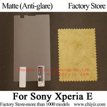 Matte Anti-glare Screen Protector Guard Cover protective Film For Sony Xperia E Dual C1504 C1505 C1604 C1605