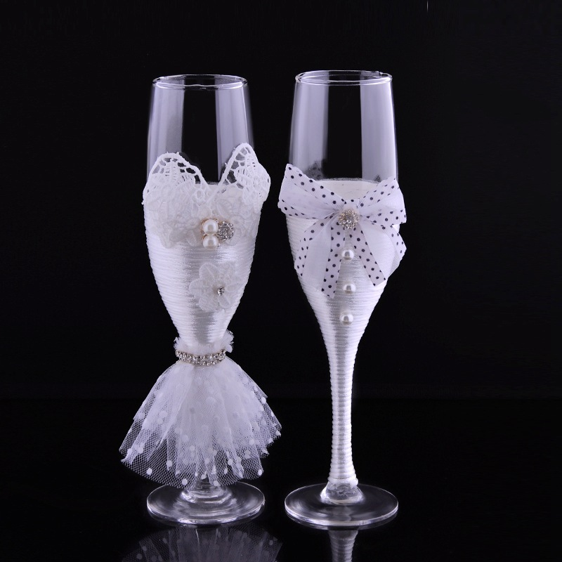 popular decorate champagne glasses buy cheap decorate champagne glasses lots from china decorate. Black Bedroom Furniture Sets. Home Design Ideas