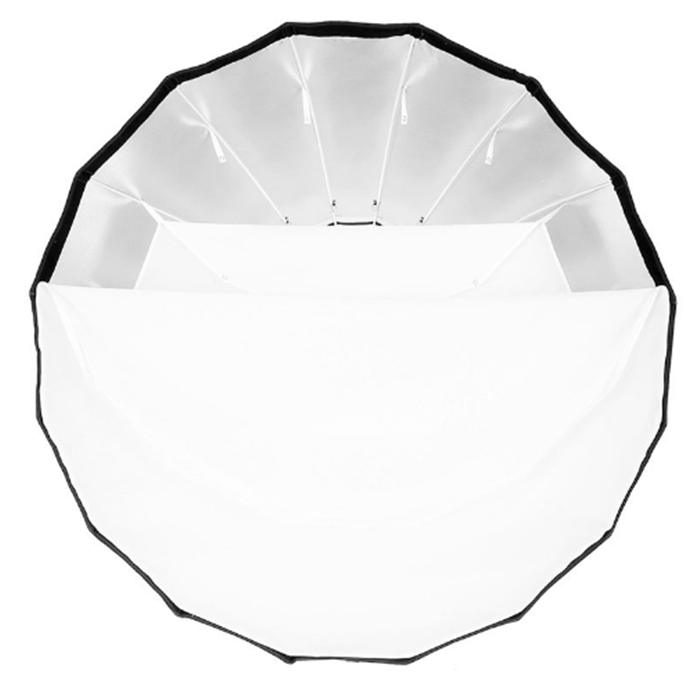 "P120L Parabolic Softbox with Bowens Mounting 47.2"" Adapter Ring for AD600B AD600BM Flash"