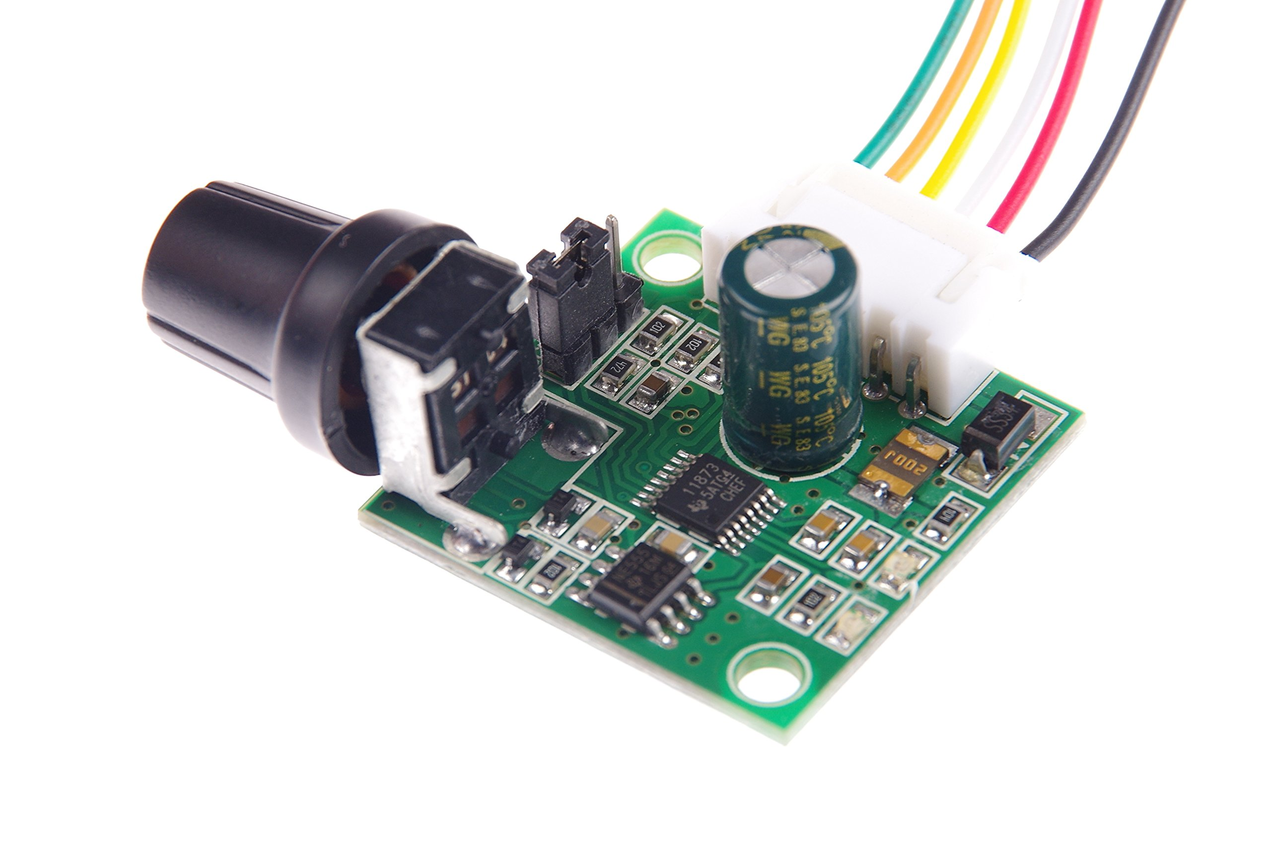 Cheap Bldc Driver Ic Find Deals On Line At Alibabacom Brushless Motor Controller Circuit Electronic Get Quotations Knacro Dc 5v 12v Stepless Speed Regulator
