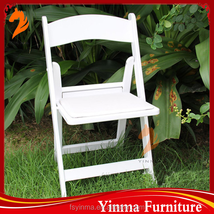Special offer wimbledon plastic wedding folding chair on sale