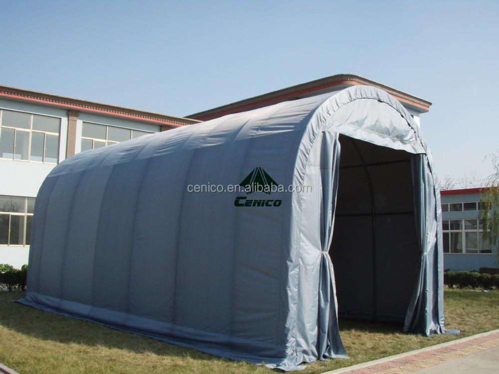 Portable tissu de voiture abri instantan e de voiture for Tente garage auto