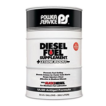 Power Service Diesel Fuel Supplement + Cetane Boost - 55gal. Drum