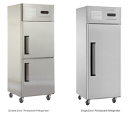 Cheap price factory directly sale stainless steel single door refrigerator,deep freezer