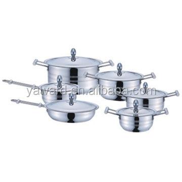 Портативный Кемпинг кухонная посуда беспорядок Комплект 12-PC Нержавеющая сталь кухонная посуда набор