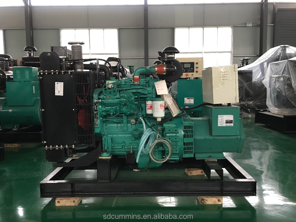 60kva diesel generator set series with Cummins engine factory wholesale price best quality