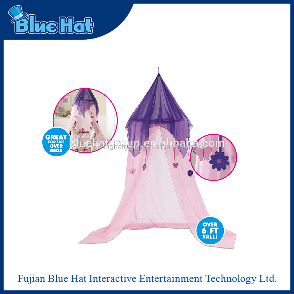 Hot sale purple princess mosquito net bed canopy