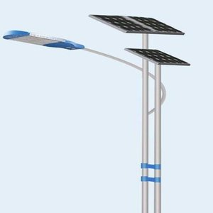 solar street lights pole design 4M 6M 8M 9M 12M double arm/single arm