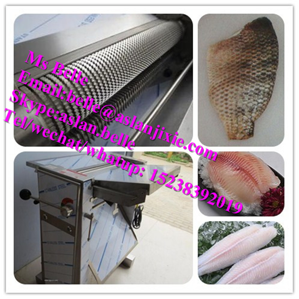 Automatic Small Size Fish Skinner