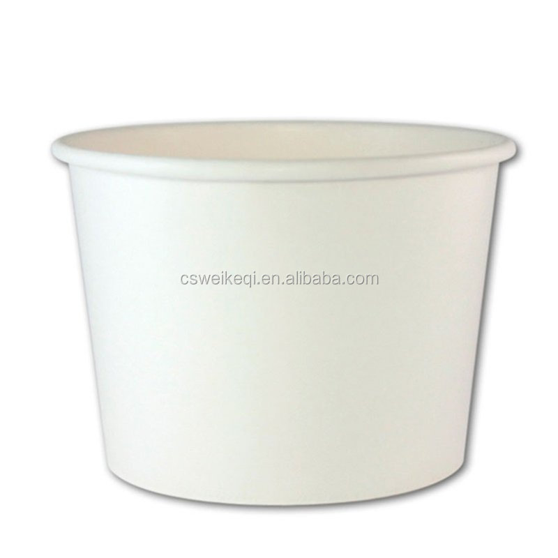 Double PE food container 250ML/yogurt paper bowl/ice cream paper bowl