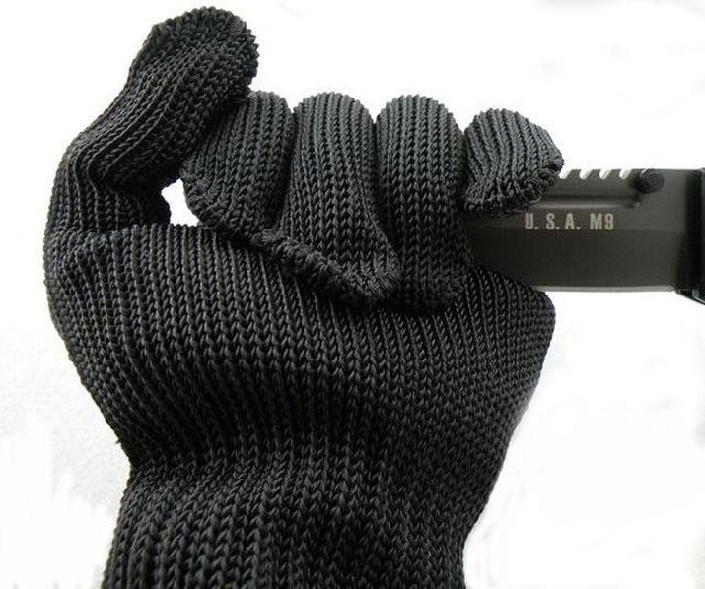 Бесплатная доставка новое поступление 100% кевлар рабочих защитные перчатки круто-устойчивых анти-истиранию устойчивы уровне 5