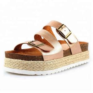 New platform  wedge heel fashion sandals for girls and women