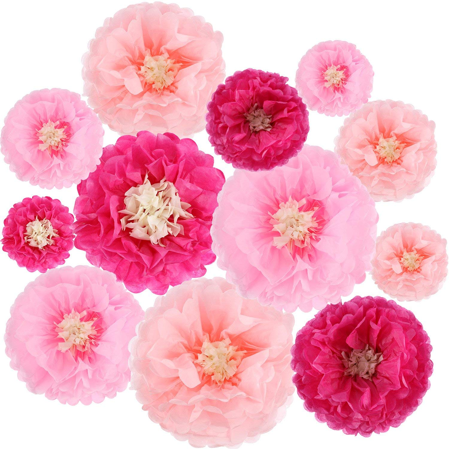 Cheap flower wall wedding find flower wall wedding deals on line at get quotations gejoy 12 pieces paper flower tissue paper chrysanth flowers diy crafting for wedding backdrop nursery wall izmirmasajfo