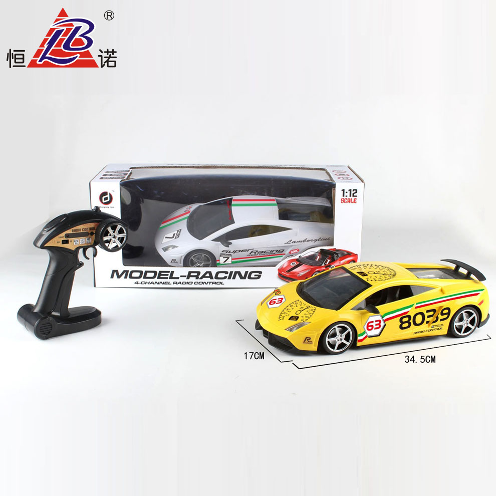 Free Sample RC Car For Kids New Racing High Speed 4WD RC Car With EN71