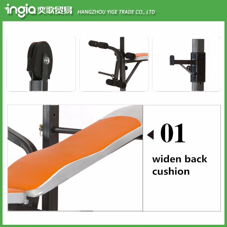 Multi-function With Pull Up System Folding Luxury Weight Lifting Bench