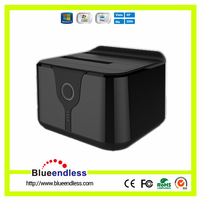 One Touch Backup Clone function 2.5 / 3.5 inch hdd docking station laptop USB 3.0 TO SATA docking