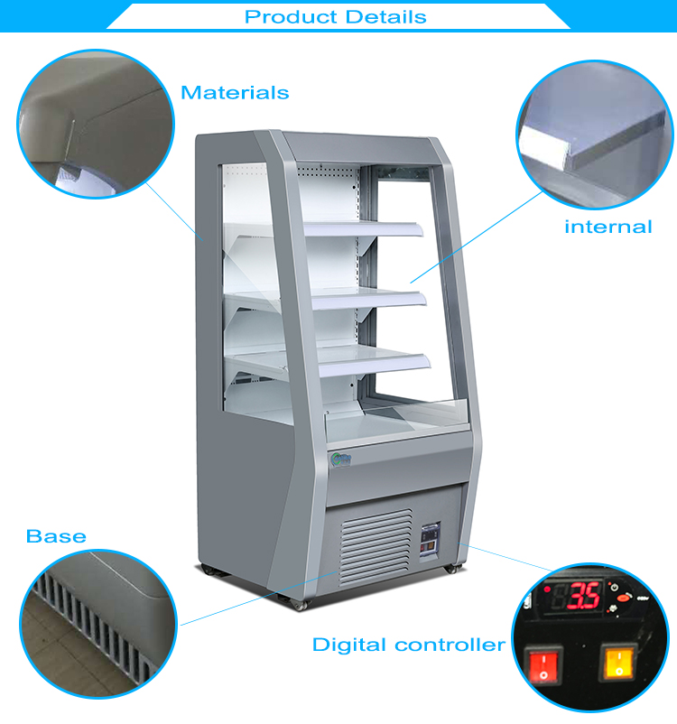 China supply Mini refrigerator cold drink supermarket display