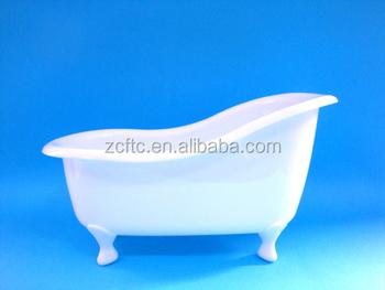 Plastica mini vasca da bagno per sapone vasca da bagno di plastica