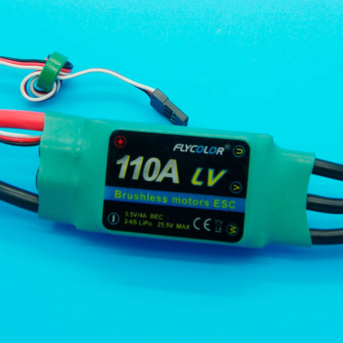 110A bruhsless ESC for RC aircraft & helicopter