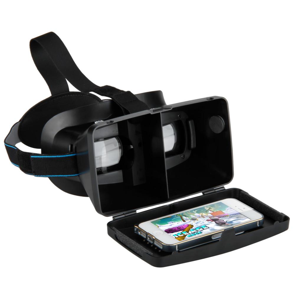 excelvan vr virtual reality universal 3d glasses head. Black Bedroom Furniture Sets. Home Design Ideas