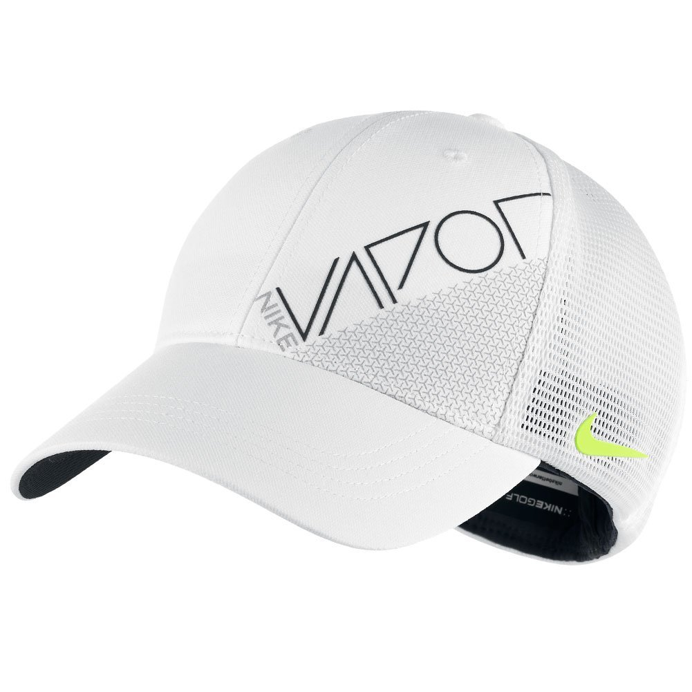 cc8edd96b4c Get Quotations · NEW Nike Tour Legacy Mesh Vapor Tour White Volt Fitted S M Hat  Cap