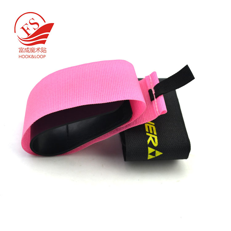new product ideas 2019 rubber or eva hook loop magic tape ski gear tie strap for skiing protection equipment