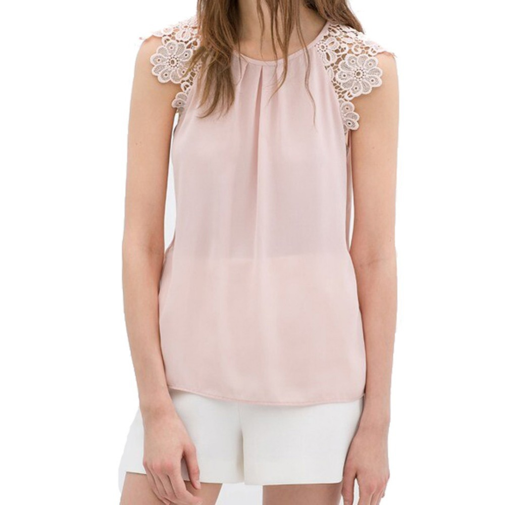 888f666ed1c Sleeveless Blouse Business Casual