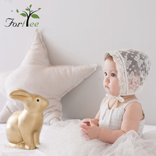 2018 fashion newborn baby girl hood hat and cap lace ruffle breathable baby court hat