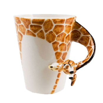 Hot Sale Giraffe Animal Ceramic Custom Coffee Mug wholesale