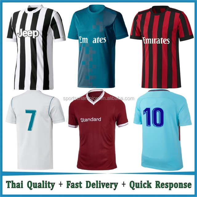858622efd37 Man grade thai quality soccer jersey in stock, city home style jersey  soccer custom,