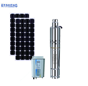 12V dc 60W submersible Screw solar water pump