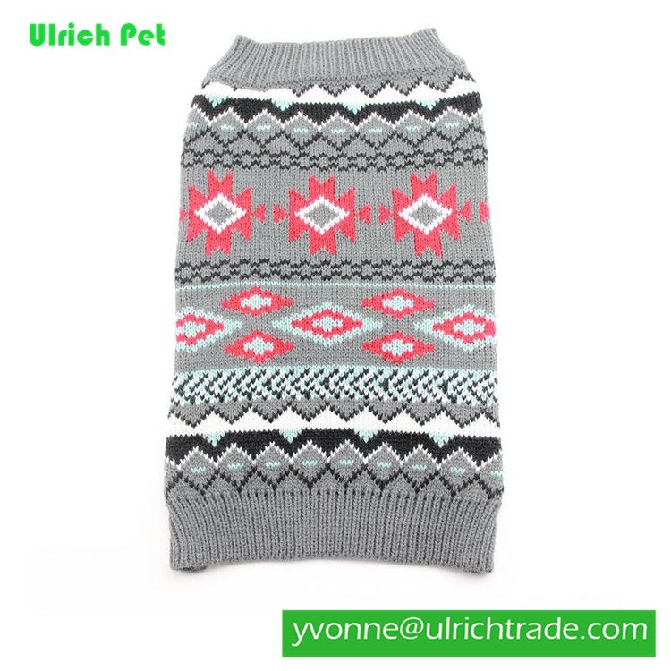 M215 hot sale knitting patterns for dog sweaters free
