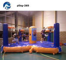 adult and children athletics inflatable game