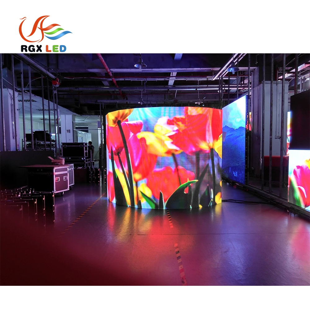 Top Quality Cylindrical Led Display Bar Video Screen Indoor Outdoor Led Large Screen Display