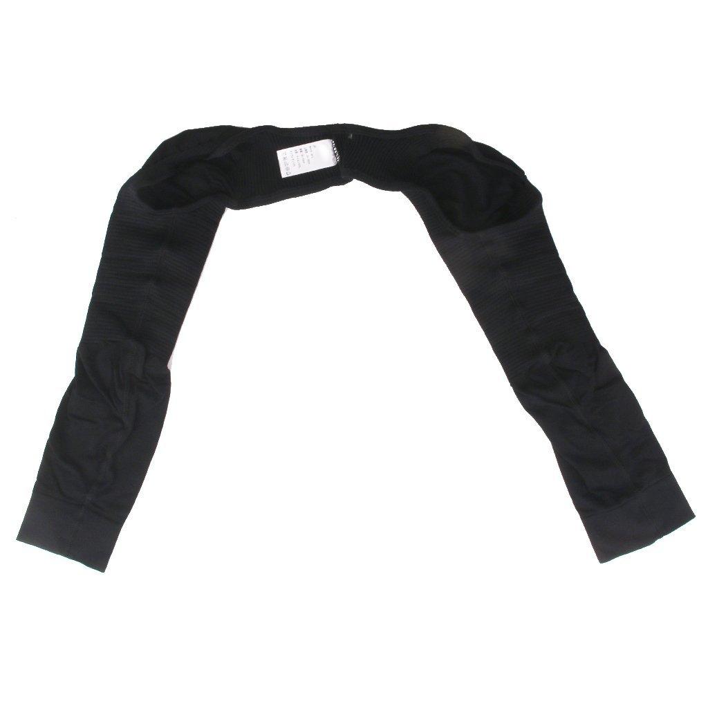 Shoulder Arm Slimming Shaper Long Sleeves Shapewear - Black M