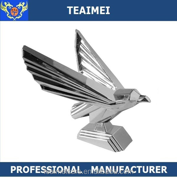 Eagle Logo ABS Stand Car Hood Badges Auto Part Car Emblem