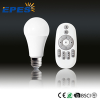 New Product 8w A60 CCT adjustable Brightness dimmable multifunctional LED lamp