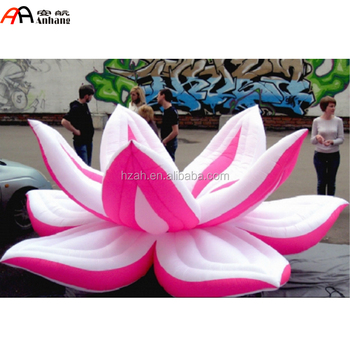 Giant Inflatable Lotus Flower Decoration Giant Artificial Lotus