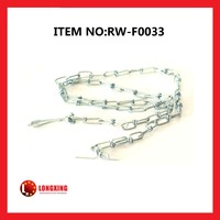 Factory Supply Zinc Plated Dog Chain,Electro Galvanized Dog Chain