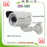 [marvio SDI 1MP]used for security system 2 megapixel ir bullet camera poe malaysia CCTV surveillance manufacturer