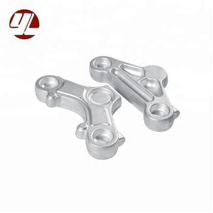 Natural Anodized Aluminum Die Forging Motorcycle Triple Clamp Spare Parts