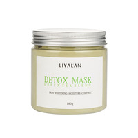 Private Label Hydrating Cleanse of Dry Skin Green Clay Mask