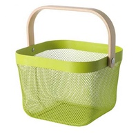 B001 wire mesh storage basket for Home, Office, Kitchen, Bathroom,etc