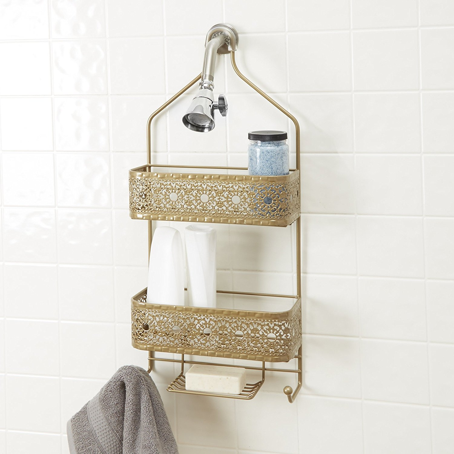 Buy Balljoint Rose Gold Shower Caddy in Cheap Price on Alibaba.com